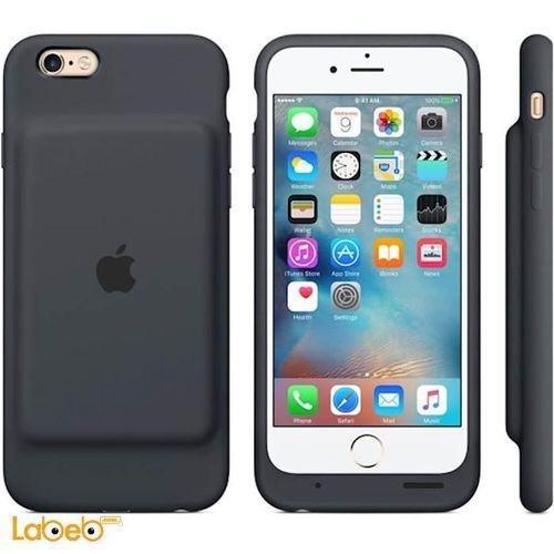 Apple Smart Battery Case iPhone 6 Charcoal Gray MGQL2LL/A