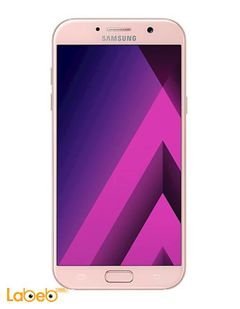 Samsung Galaxy A7(2017) smartphone - 32GB - martian pink color