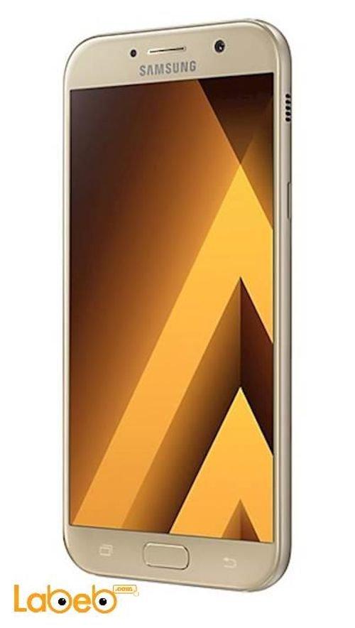 سامسونج جلاكسي (A5(2017 ذاكرة 32 جيجابايت رمال ذهبية