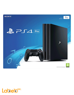 Sony PlayStation 4 - 1TB - Black color - CUH-7016B model