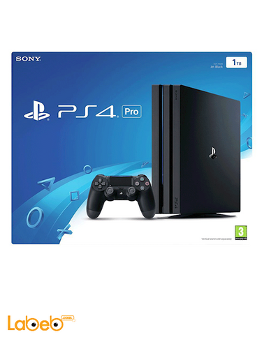 Sony PlayStation 4 - 1TB - Black color - CUH-7016B model