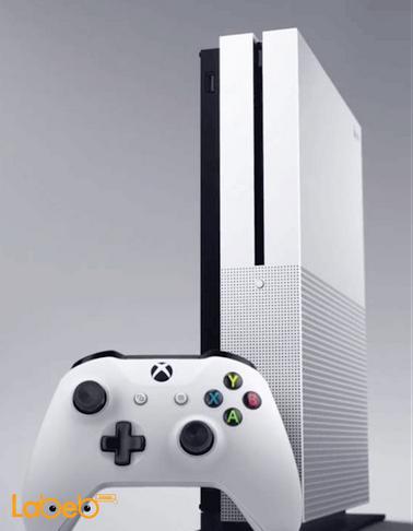 جهاز العاب Xbox One S مايكروسوفت - 500GB - أبيض - موديل 1681