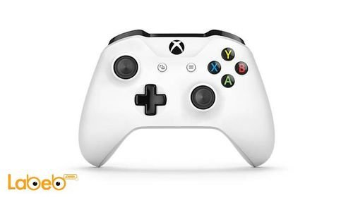 اداة تحكم Xbox لاسلكية مايكروسوفت ويندوز 10 أبيض موديل 1708