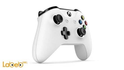 اداة تحكم Xbox لاسلكية مايكروسوفت ويندوز 10 لون أبيض موديل 1708