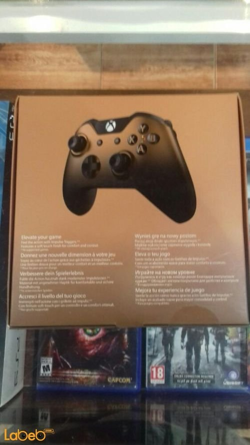 Microsoft Xbox One Copper Shadow 1697 Wireless Controller specifications Black