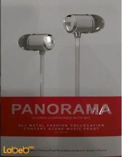 Vidvie Panorama stereo earphones - with mic - Black - VV-H005