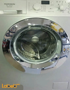 Thomson Front Load Washing Machine - 9Kg - Silver - TOM9/12SC