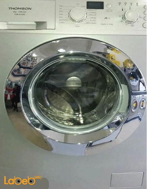 Thomson Front Load Washing Machine 9Kg Silver TOM9/12SC