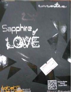 سماعة بلوتوث Sapphire love - لجميع الأجهزة - أبيض - ZBT104BLAA\IB