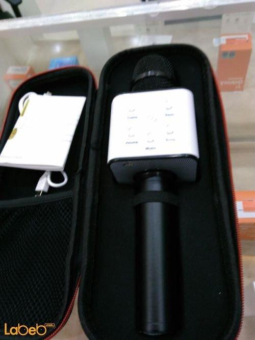 مايكروفون لاسلكي TUXUN كابل USB لون أسود موديل Q7
