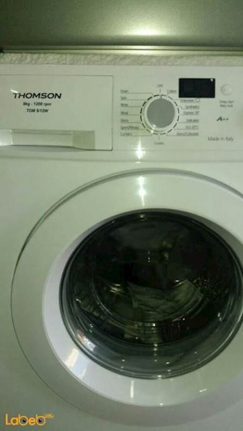 Thomson Front Load Washing Machine 9Kg White color TOM9/12W