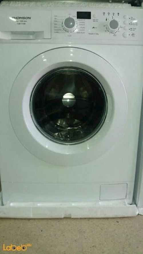 Thomson Front Load Washing Machine 7Kg White TOM7/12W model
