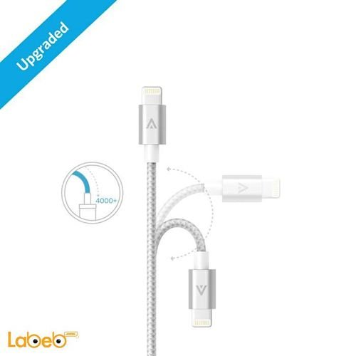 Anker lightning cable silver A7114041