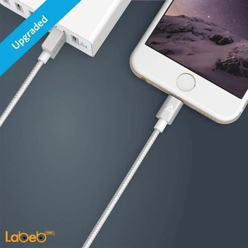 port Anker lightning cable silver A7114041