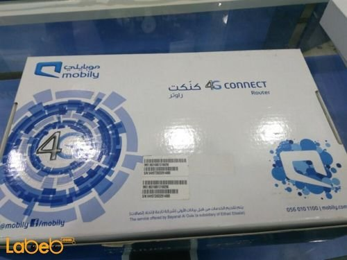 Mobily 4G Connect Router WL_TFQQ-124GN