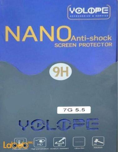 Yolope Nano Anti Shock Screen Protector fot iPhone 7 plus 9H