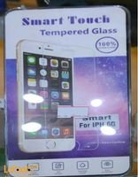Smart touch tempered glass for iPhone 6 Transparent color