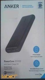 Anker PowerCore 20000mAh 2 USB Ports Black A1272H11