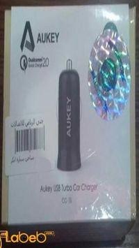شاحن سيارة AUKEY مدخل USB يونيفرسال لون أسود CC-T5