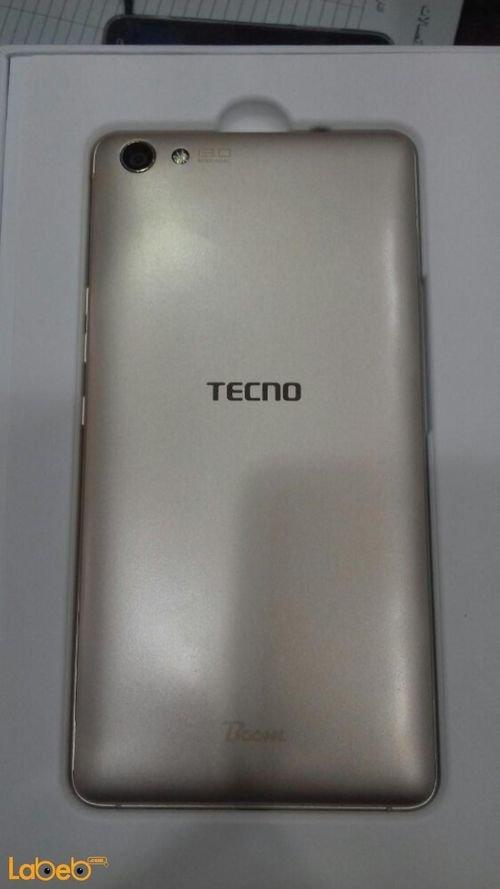 خلفية موبايل Tecno Boom J8 ذاكرة 16 جيجابايت لون ذهبي موديل J8