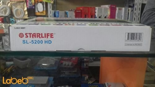 Starlife HD Satellite Receiver Full HD Black SL-5200HD