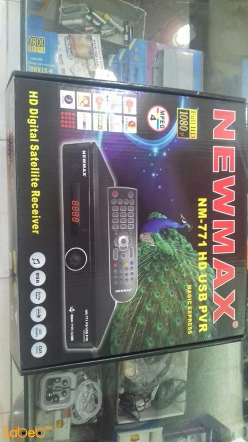 Newmax HD Digital Satellite Receiver Full HD Black NM-771HD model