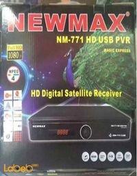 ريسيفر نيو ماكس full HD لون اسود NM-771HD