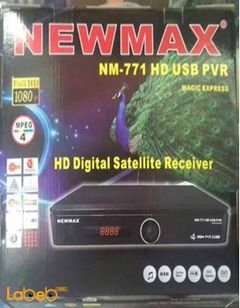 Newmax HD Digital Satellite Receiver - Full HD - Black - NM-771HD