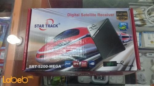 رسيفر ستار تراك full HD سعة 5000 قناة منفذ USB موديل SRT-5200