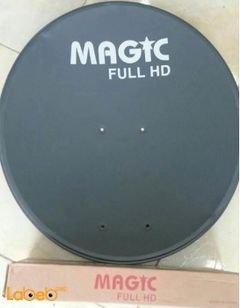 MAGIC Satellite dish - 60 cm - Full HD - tiger cable 15miters