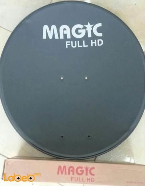 MAGIC Satellite dish 60cm Full HD tiger cable 15miters