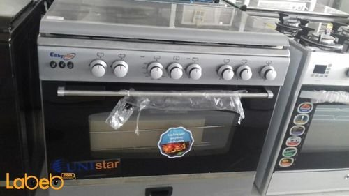 Sky star oven 5 burners 60x90cm stainless