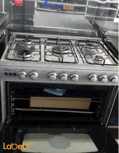 Sky star oven - 5 burners - 60x80cm - stainless color - C6080