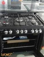 Sky star oven 5 burners 60x80cm black color C6080