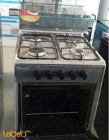 Sky star oven 4 burners 55x55cm stainless color C5555