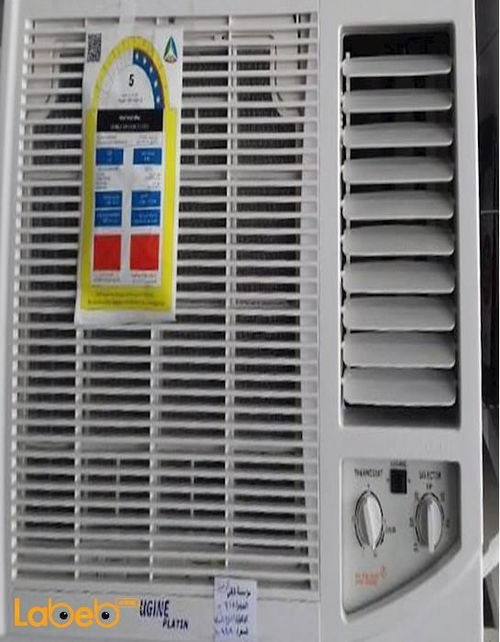 Ugine Window Cooling Air Conditioner 17800Btu white UGNW18C