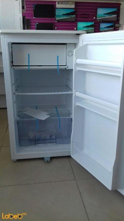 inside Ugine mini refrigerator UGE-1-115