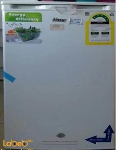 Ugine mini refrigerator - 115 liters - white color - UGE-1-115