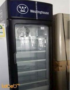 ثلاجة عرض زجاج Westinghouse - سعة 382 لتر - لون أسود - WSC382KP