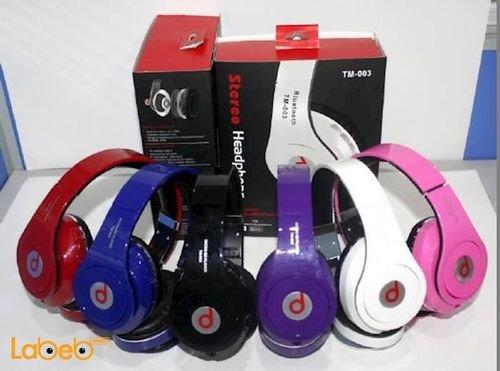 سماعة راس لاسلكية TM-003 Beats By Dr Dre بلوتوث 4.0