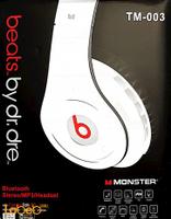 Monster Beats By Dr Dre Headphone Bluetooth v4.0 TM-003 model