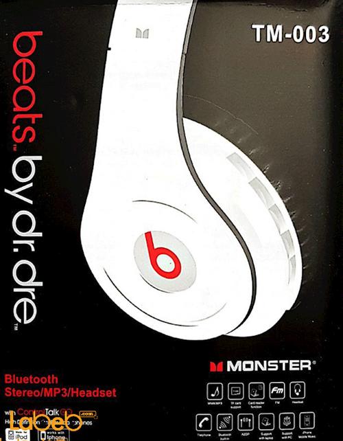 سماعة راس لاسلكية Beats By Dr Dre بلوتوث 4.0 موديل TM-003
