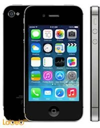 موبايل ايفون 4S ابل ذاكرة 8 جيجابايت 3.5 انش أسود A1431