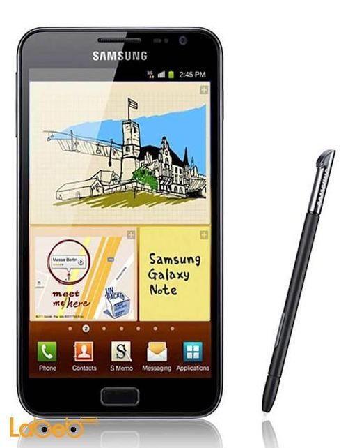 Samsung Galaxy Note mobile 16GB black color GT-N7000
