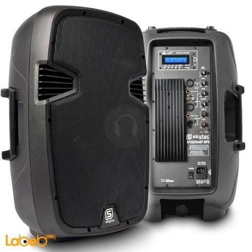 سماعة DJ متنقل Skytec قدرة 600 واط 12 انش