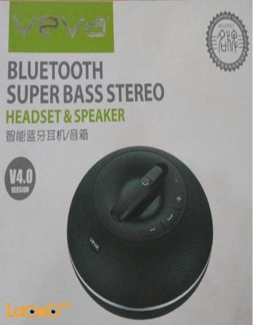 Veva Speaker bluetooth V4.0 Black color CSR8610 model