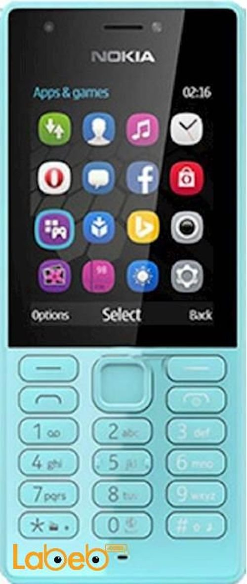 Nokia 222 mobile 16MB Dual Sim Blue RM-1187
