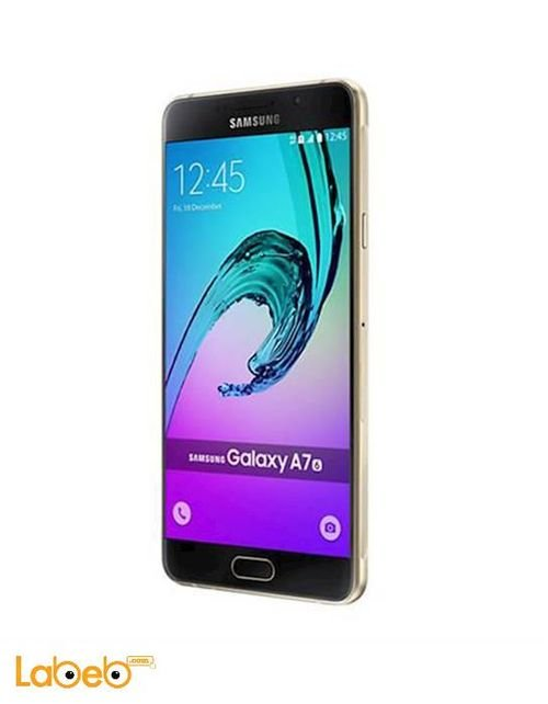 Gold Samsung Galaxy A7(2016) smartphone 32GB