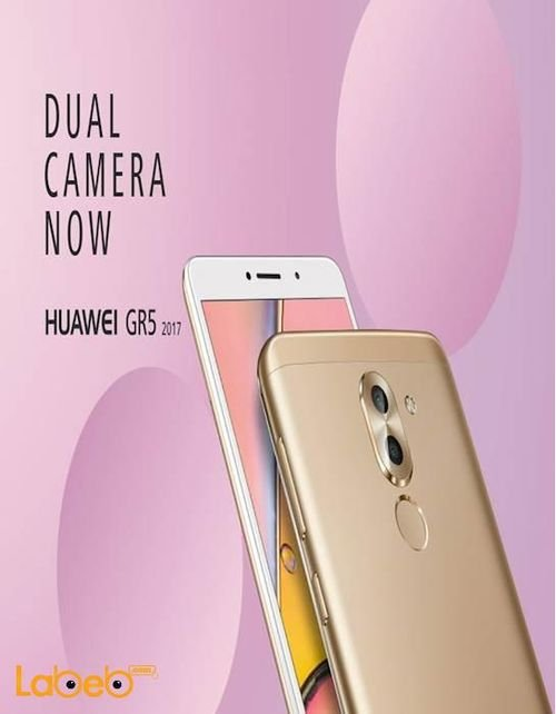 Huawei GR5 (2017) 6X smartphone gold color