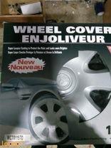 طاسة عجل ENJOLIVEUR للسيارات 4 قطع لون فضي WC 70115 TO